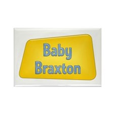 Baby Braxton Rectangle Magnet
