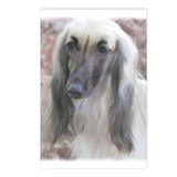 Unique Afghan hound Postcards (Package of 8)