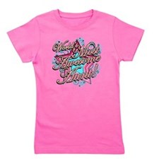Worlds Most Awesome Aunt Girl's Tee