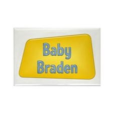 Baby Braden Rectangle Magnet (100 pack)