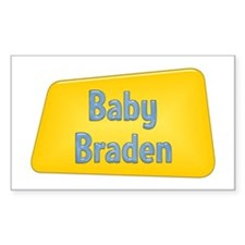 Baby Braden Rectangle Decal
