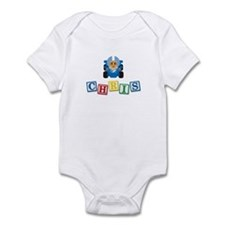 Chris Race Car Infant Bodysuit