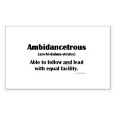 Ambidancetrous Stickers
