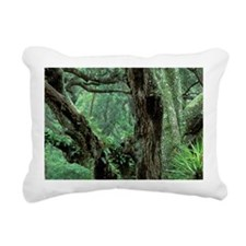 Cumberland Island. Palme Rectangular Canvas Pillow
