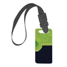 444_iphone_limegreendenim Luggage Tag