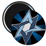 Star of David Hanukkah Mitzvah Magnet