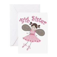 Ballerina2BigSister Greeting Card