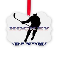 Hockey Grandma Ornament
