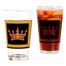 GoldleafCrownBsf Drinking Glass
