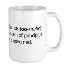 NEW Constitushun 3 Black Mug