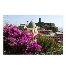 Le Cinque Terre Postcards (Package of 8)
