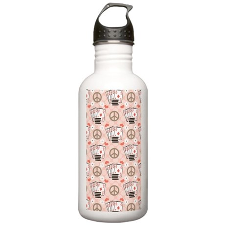 PokerPLCPHardCaseiPhon Stainless Water Bottle 1.0L
