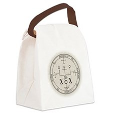 RaphSealBlk Canvas Lunch Bag