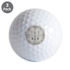 RaphSealBlk Golf Ball