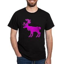 reindeer pink T-Shirt