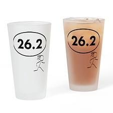 26 Oval w figure V2 Drinking Glass