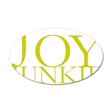 Joy Junkie.gif 35x21 Oval Wall Decal