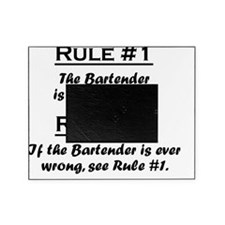 Rule Bartender Picture Frame