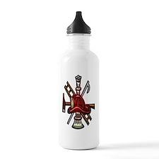 Fire Department Seal c Water Bottle