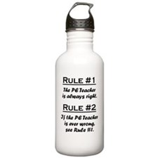 Rule PE Teacher Sports Water Bottle