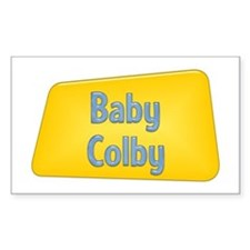 Baby Colby Rectangle Decal