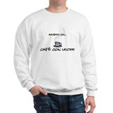 Raised on Café con Leche Sweatshirt
