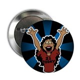 "21 Year Old Hot Girl Birthday 2.25"" Button (10 pac"