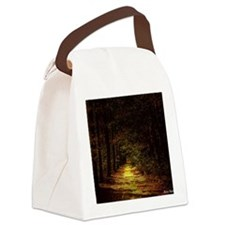 calendar illuminated path Canvas Lunch Bag