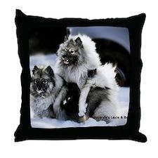 2 January Lexie and Bridget Throw Pillow