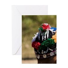 Hmong Tribal children in traditional Greeting Card