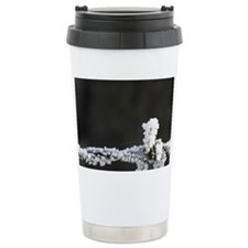 Frosty Barbed Wire, Sutton, Ota Ceramic Travel Mug