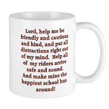School Bus Driver's Prayer Mug