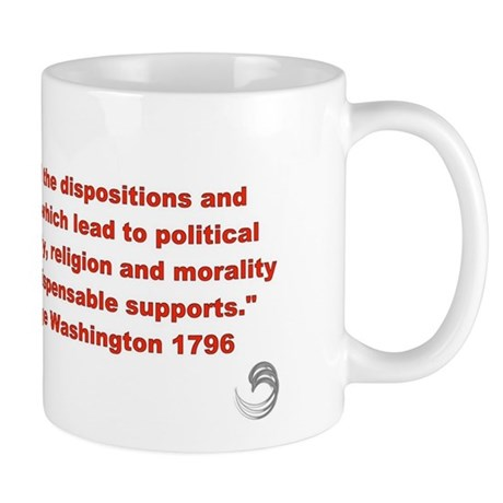 "George Washington ""political prosperity""Mug"