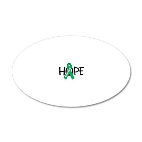 Mental-Health-Hope 20x12 Oval Wall Decal