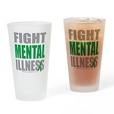 Fight-Mental-Illness Drinking Glass