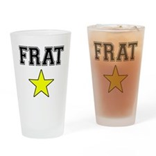 Frat Star Drinking Glass