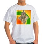 JAH LOVE Ash Grey T-Shirt