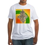 JAH LOVE Fitted T-Shirt