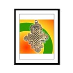 JAH LOVE Framed Panel Print