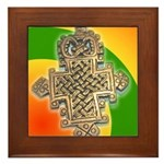 JAH LOVE Framed Tile