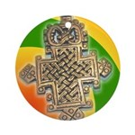 JAH LOVE Ornament (Round)