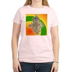 JAH LOVE Women's Pink T-Shirt