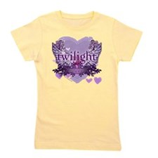 twilight forever purple heart copy Girl's Tee