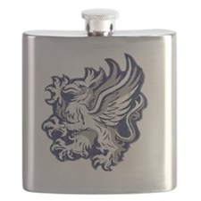 Grey Warden Griffin Flask