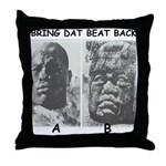 BDBB A & B Throw Pillow