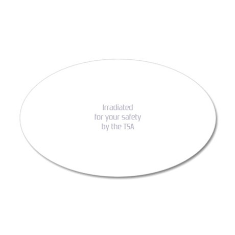 irradiatedlite 20x12 Oval Wall Decal