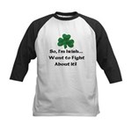 So I'm Irish Kids Baseball Jersey