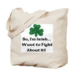 So I'm Irish Tote Bag