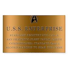enterpriseplaque04 Stickers