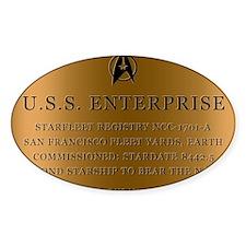 enterpriseplaque04 Decal